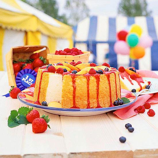 Blue-Ribbon Angel Food Cake