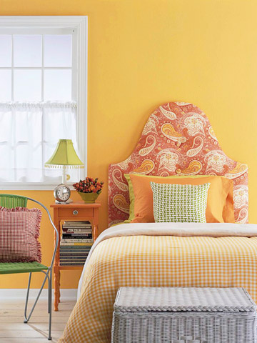 Easy bedroom makeover