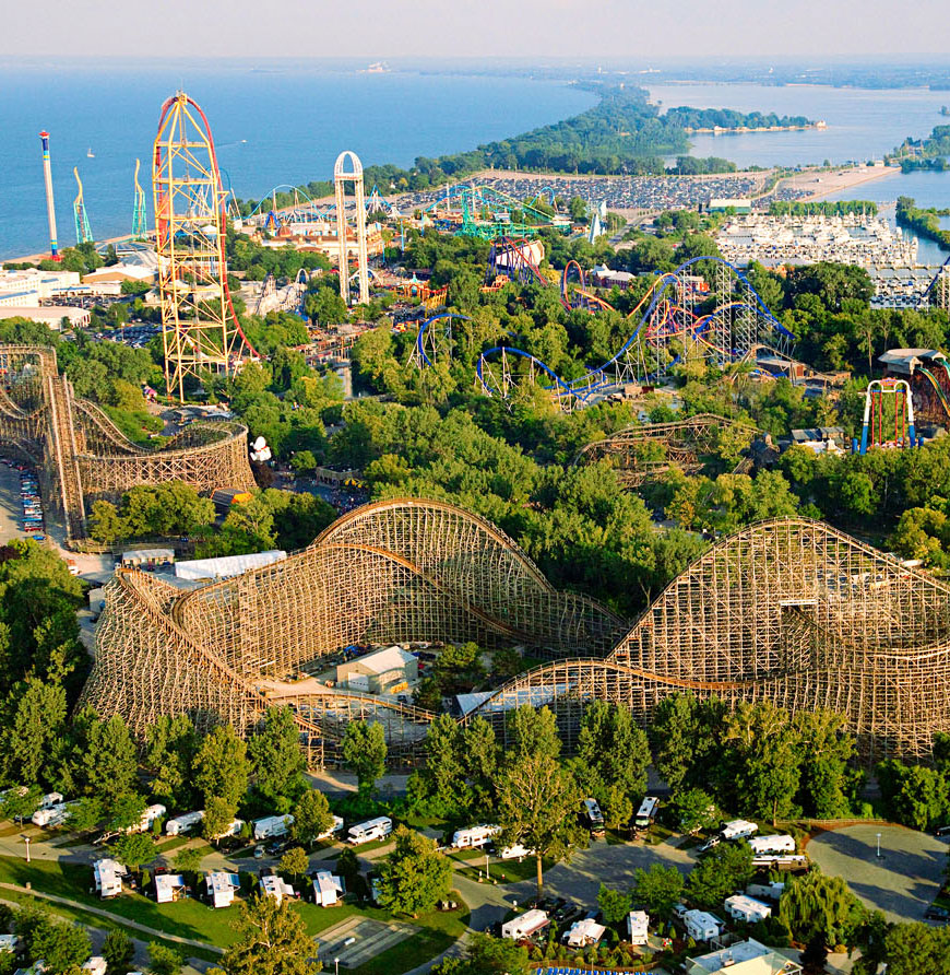 Things to Do in Ohio's Lake Erie Shore--Cedar Point Amusement Park