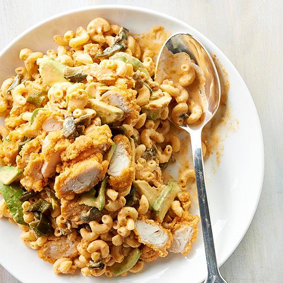 Southwestern Chicken and Macaroni Salad