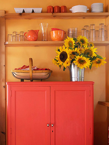 Recycled storage and shelving