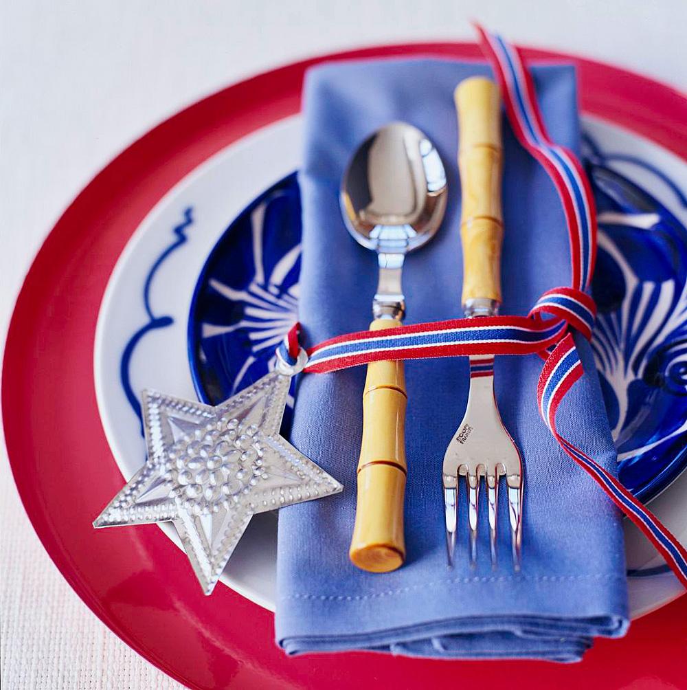 Patriotic dining