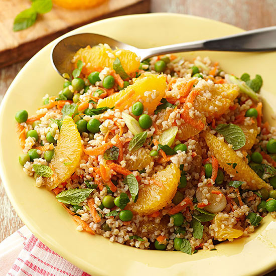 Orange Tabbouleh