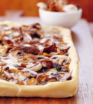 Mixed Mushroom Pizza