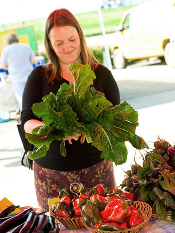 Sarah Slater: Farmers market buying tips