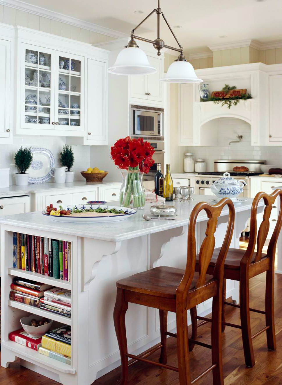 Cottage style in the kitchen