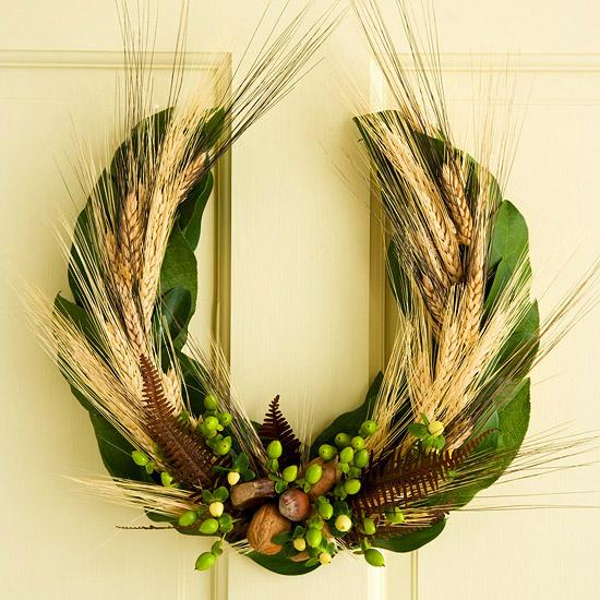 U-shape wreath
