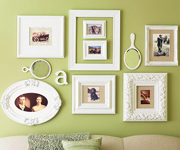 Create a unique picture display