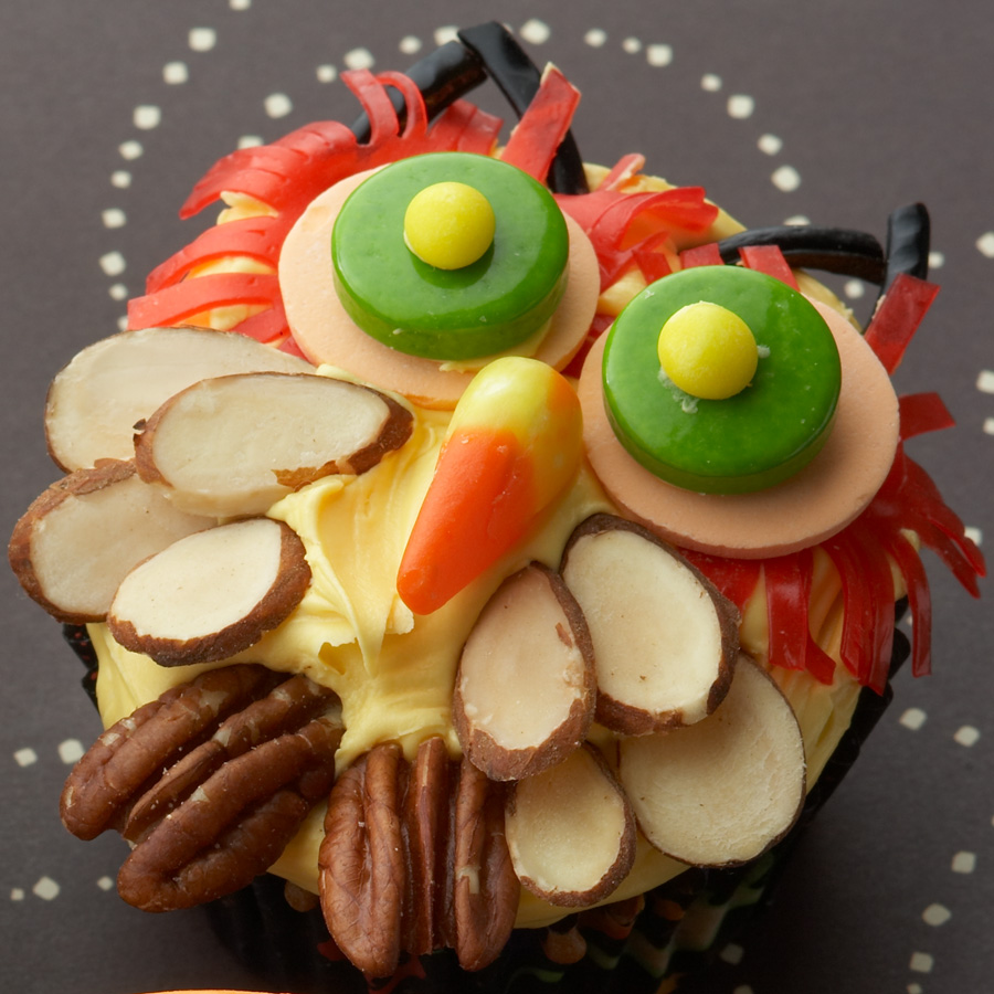 Nutty Owl Cupcakes