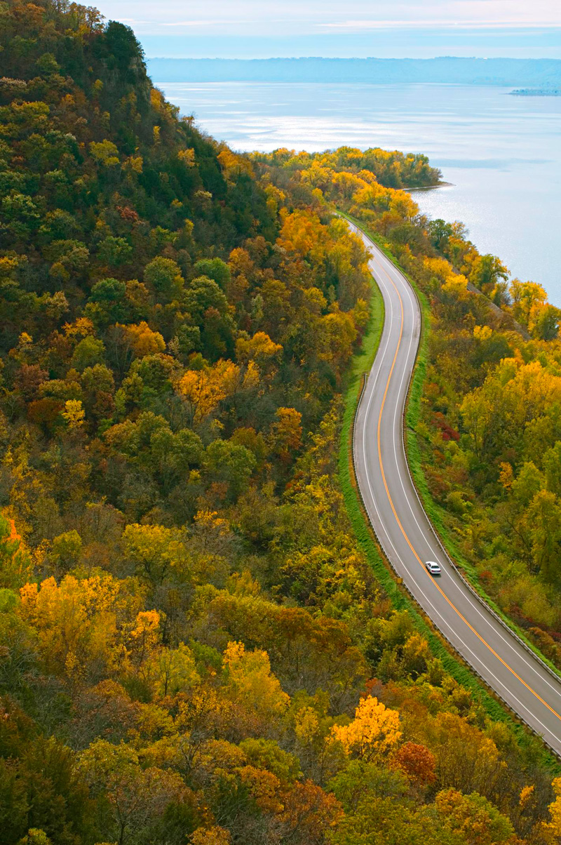 The Wisconsin Great River Road