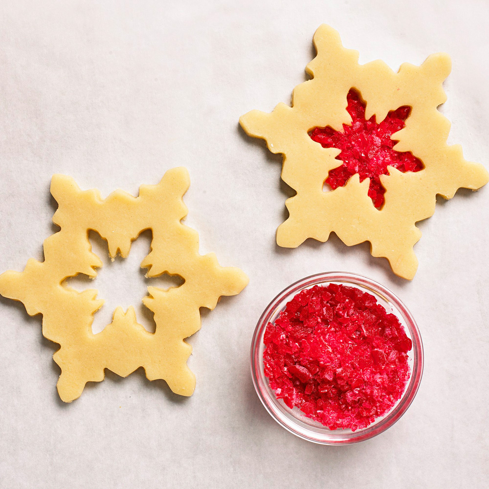 Stained-glass cookie
