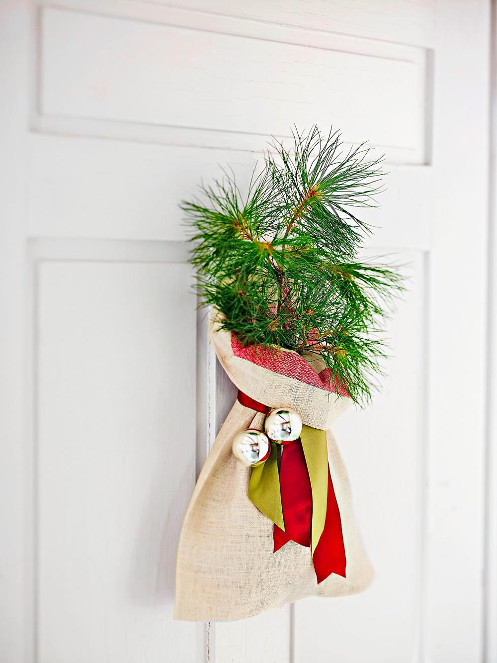Tree door decoration