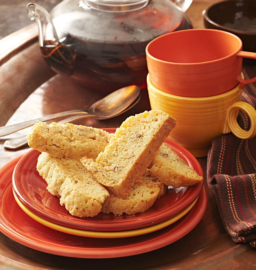 Lemon Walnut Biscotti