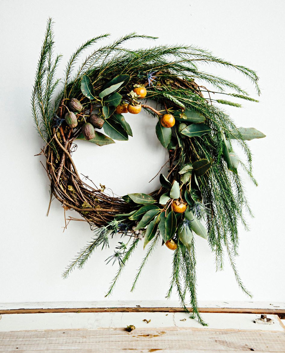 Orange crush wreath