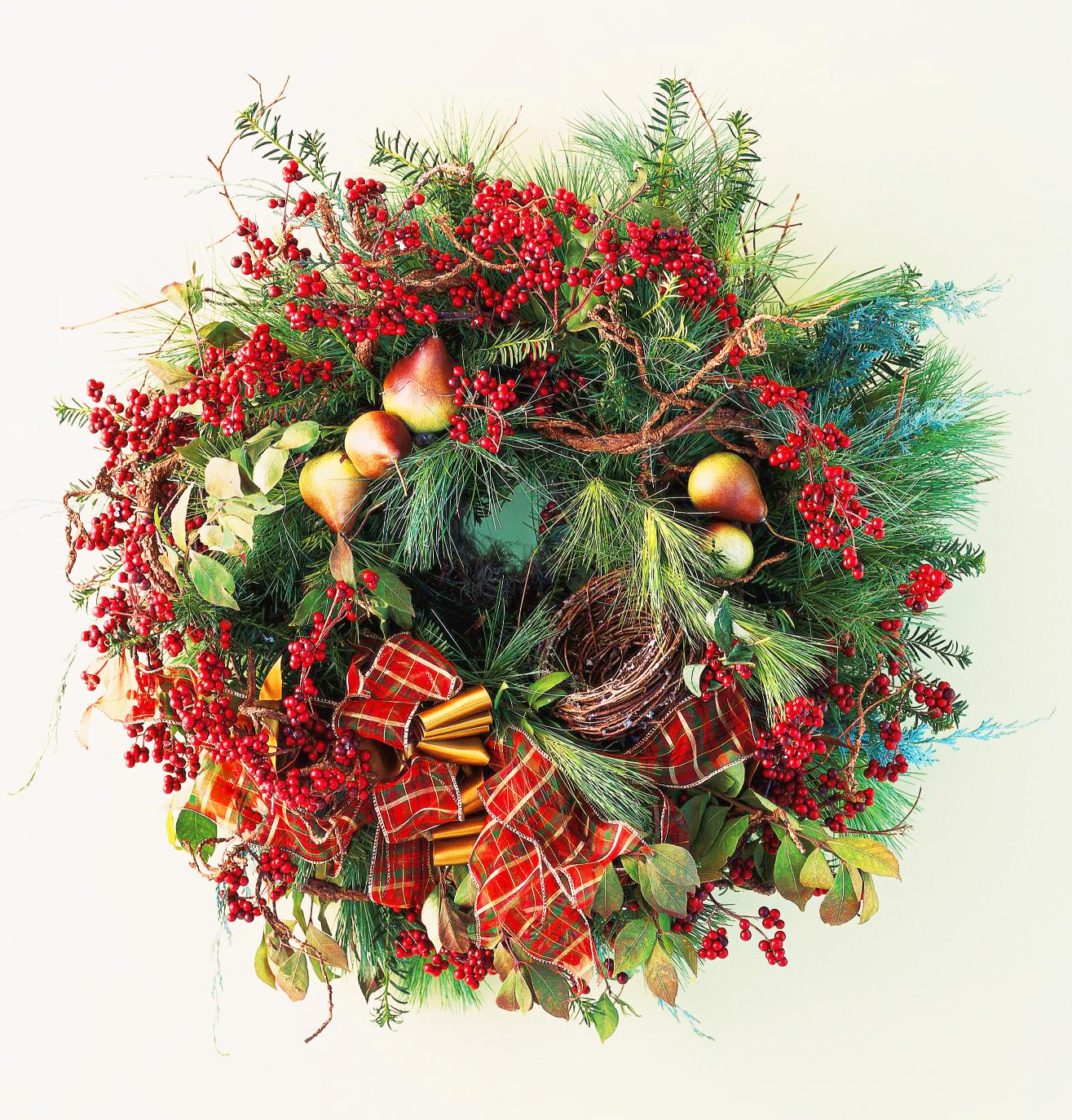Natural splendor wreath