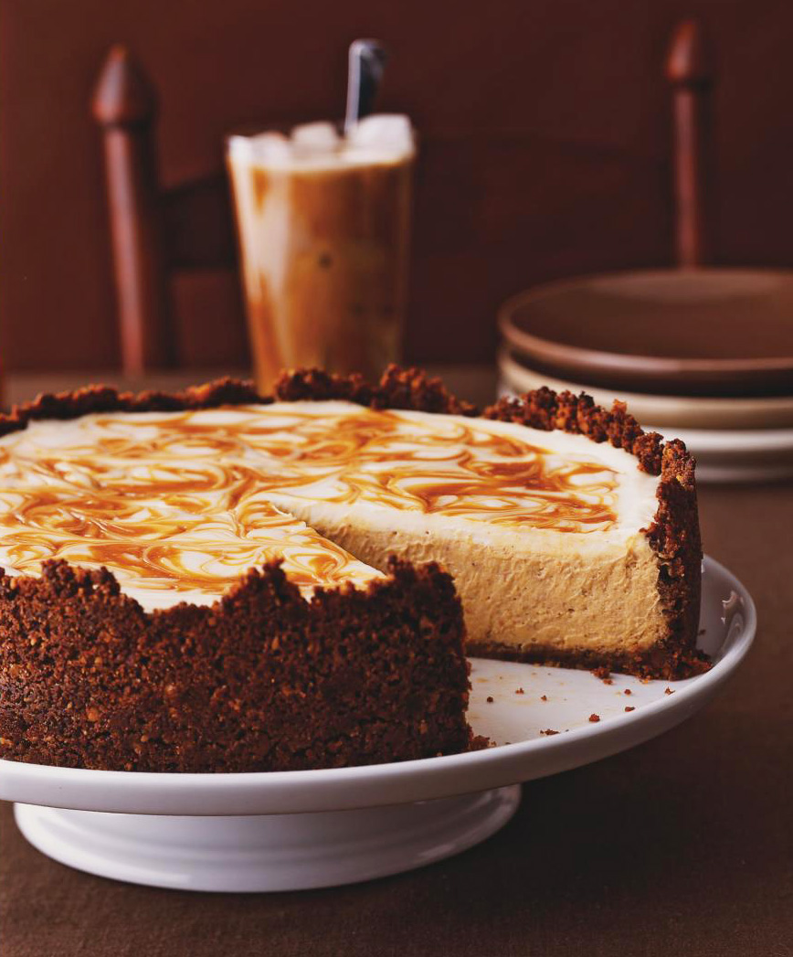 Mooselips' Pumpkin Cheesecake