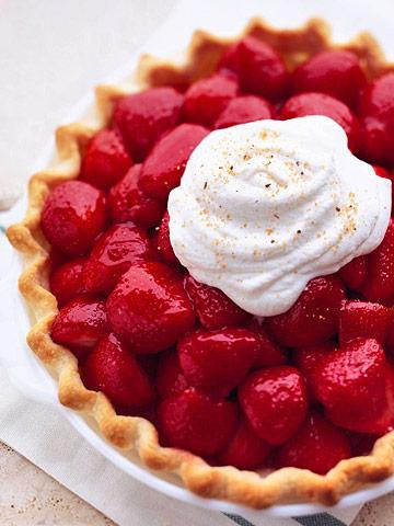 Sugar and Spice Strawberry Pie