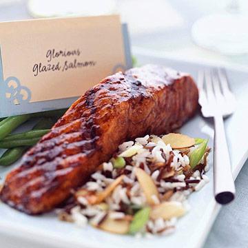 Glorious Glazed Salmon
