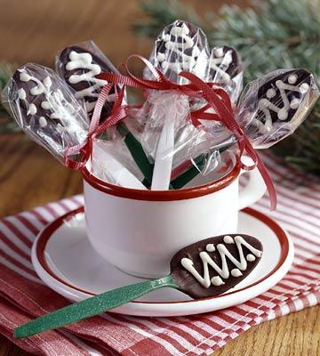 Coffeehouse Chocolate Spoons