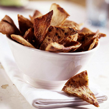 Red Hot Pita Chips