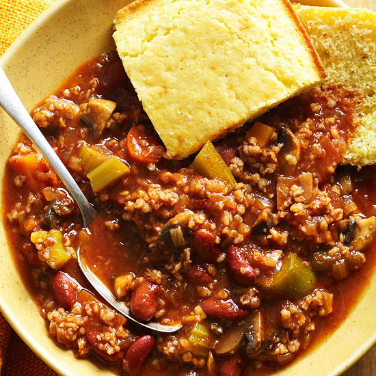 Bring the Heat, Skip the Meat Chili