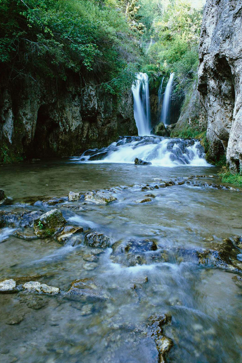 Spearfish Canyon in the Black Hills