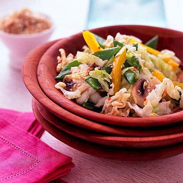 Savoy Cabbage Salad