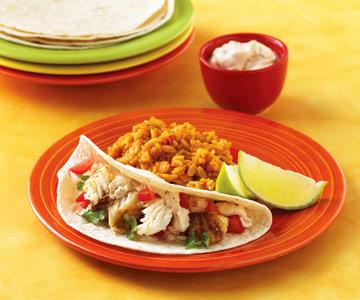 #2: Fish taco dinner