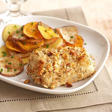 Crispy Almond Fish