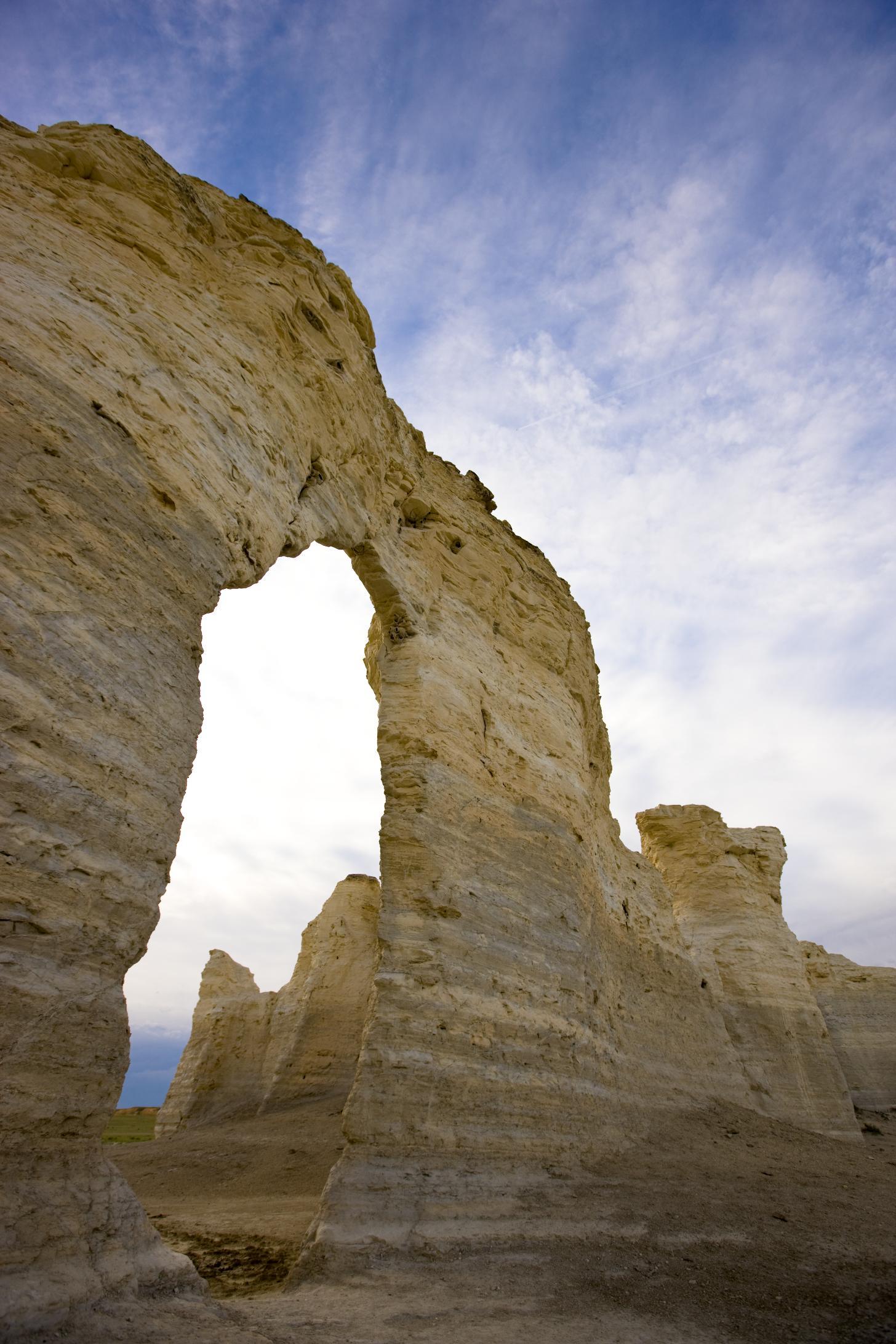 Kansas' cliffs