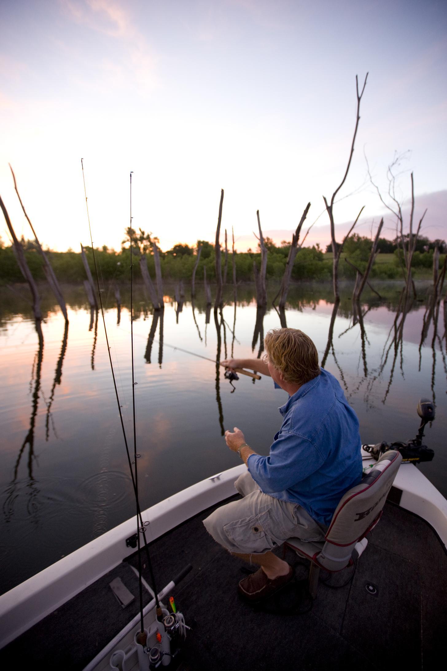 Kansas fishing