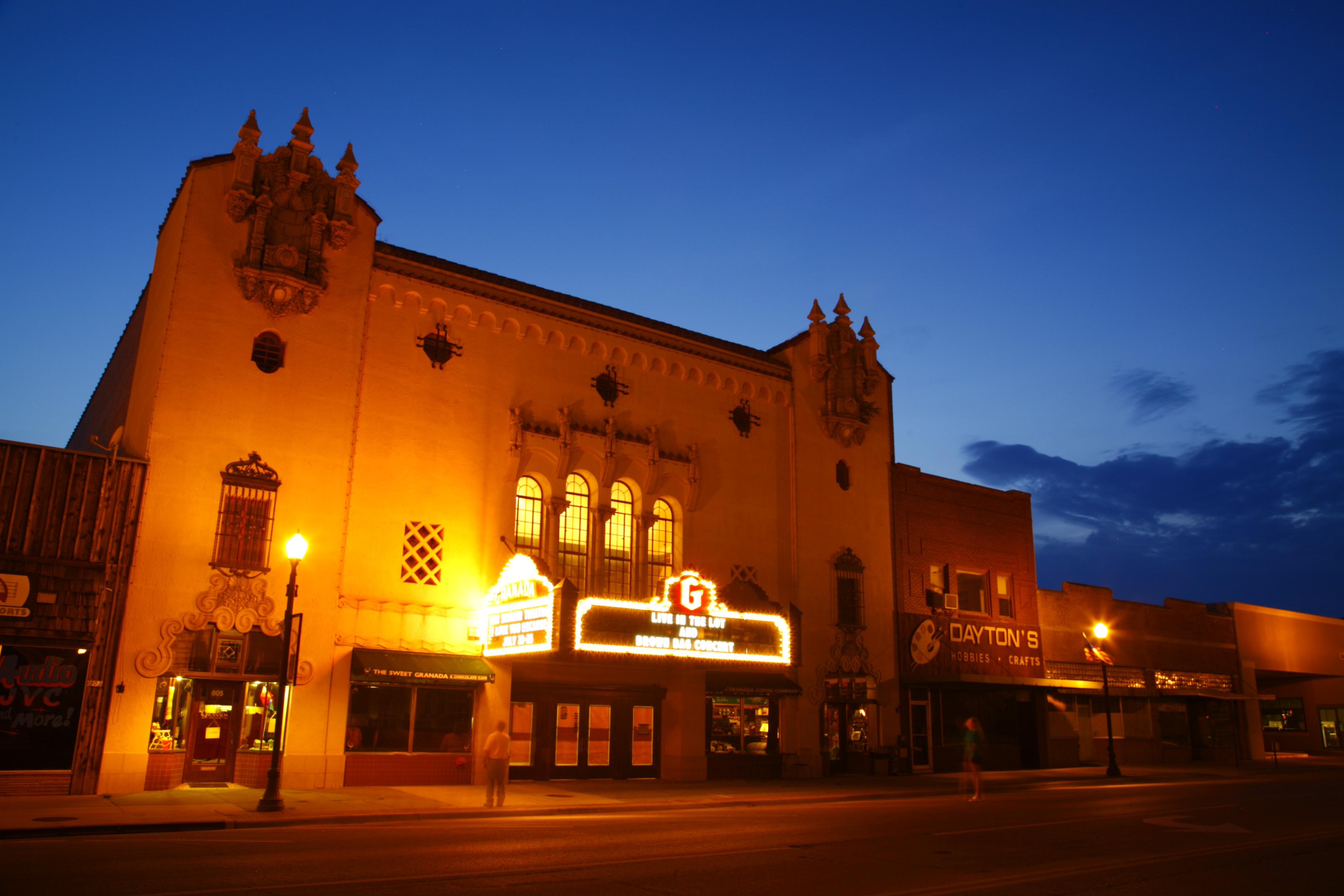 Emporia's Granada Theatre.