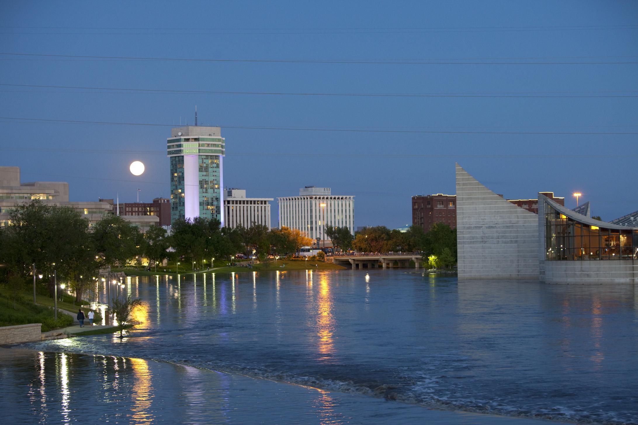 Downtown Wichita.