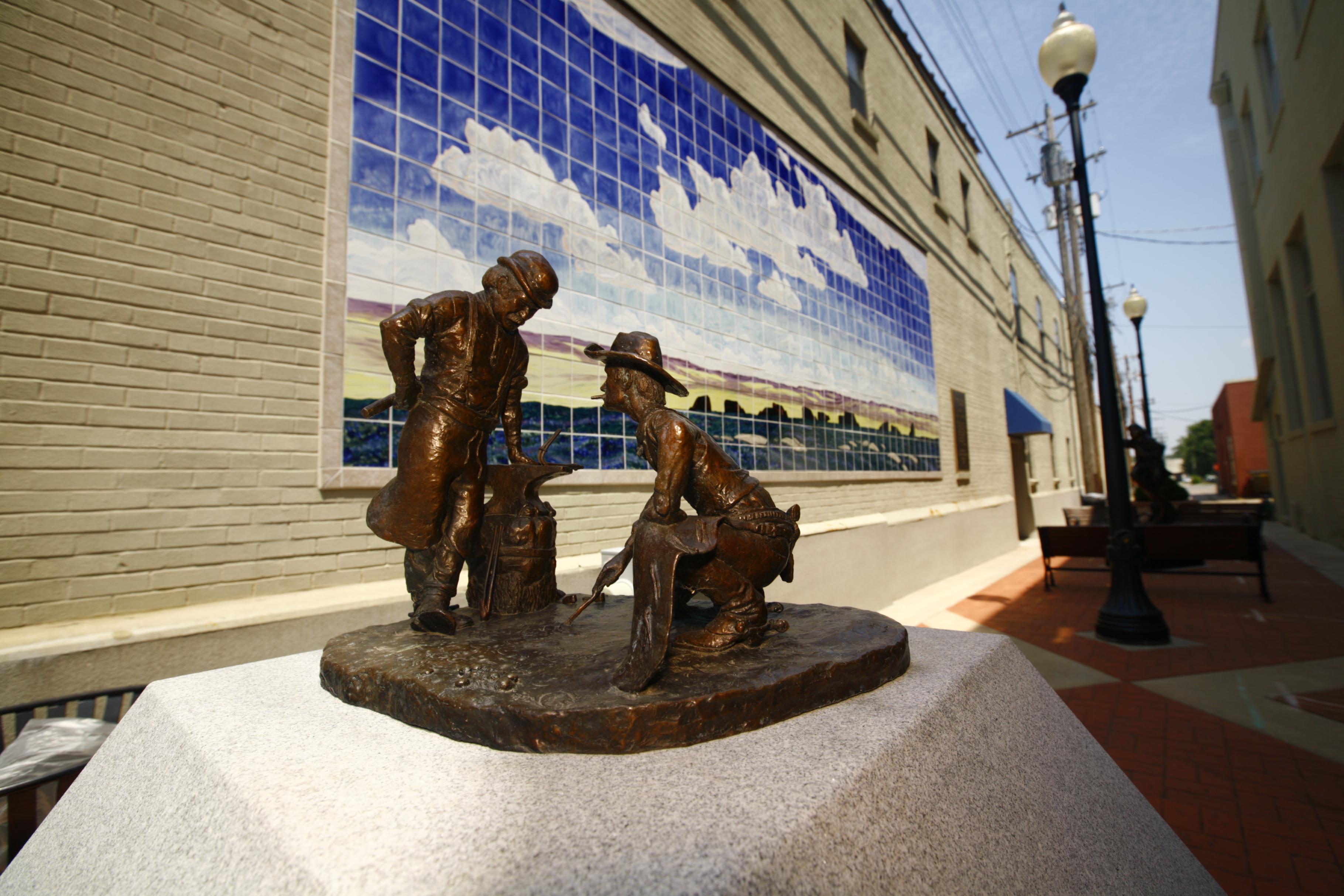 Sculpture Alley in El Dorado.
