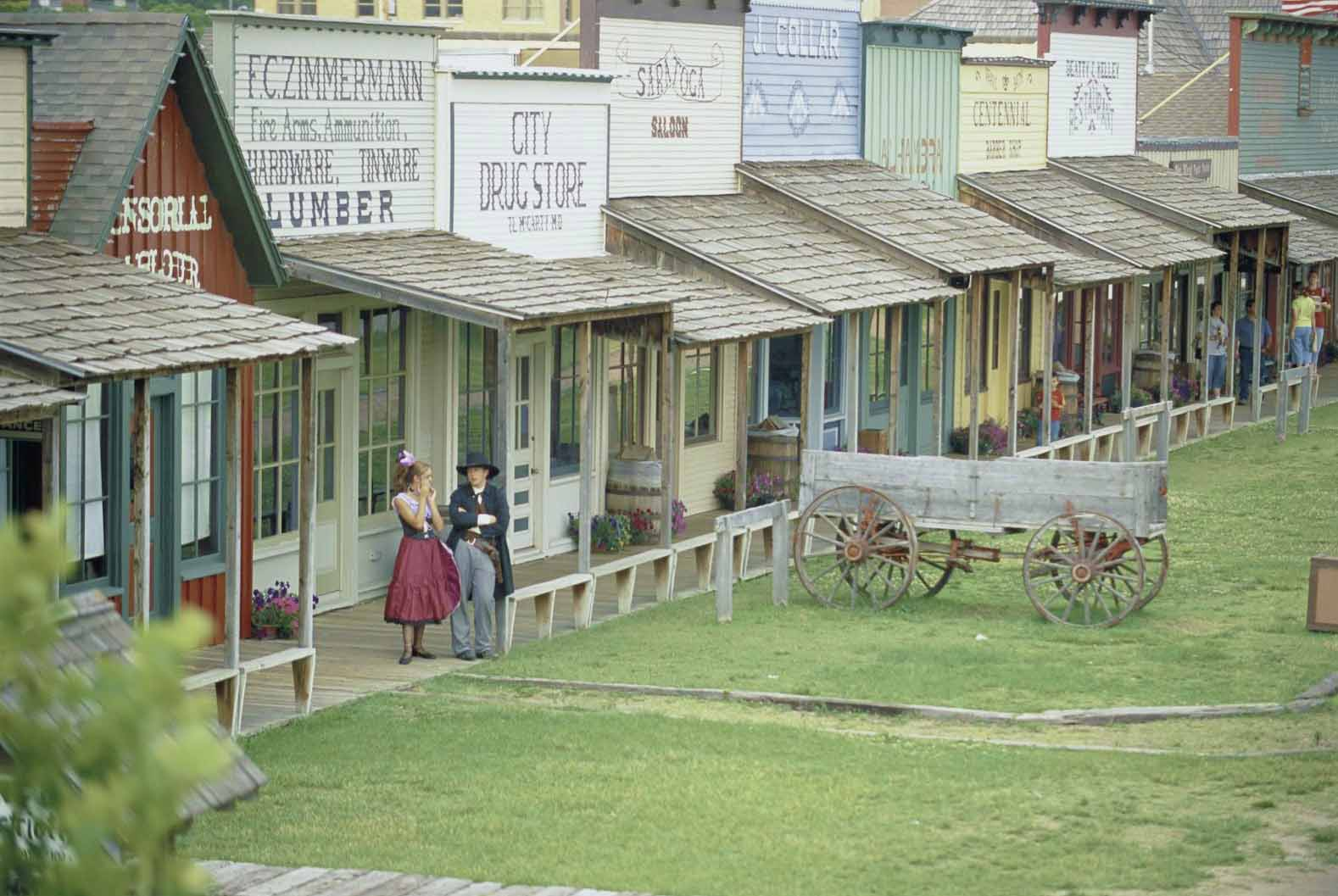 Boot Hill Museum and Old Front Street.