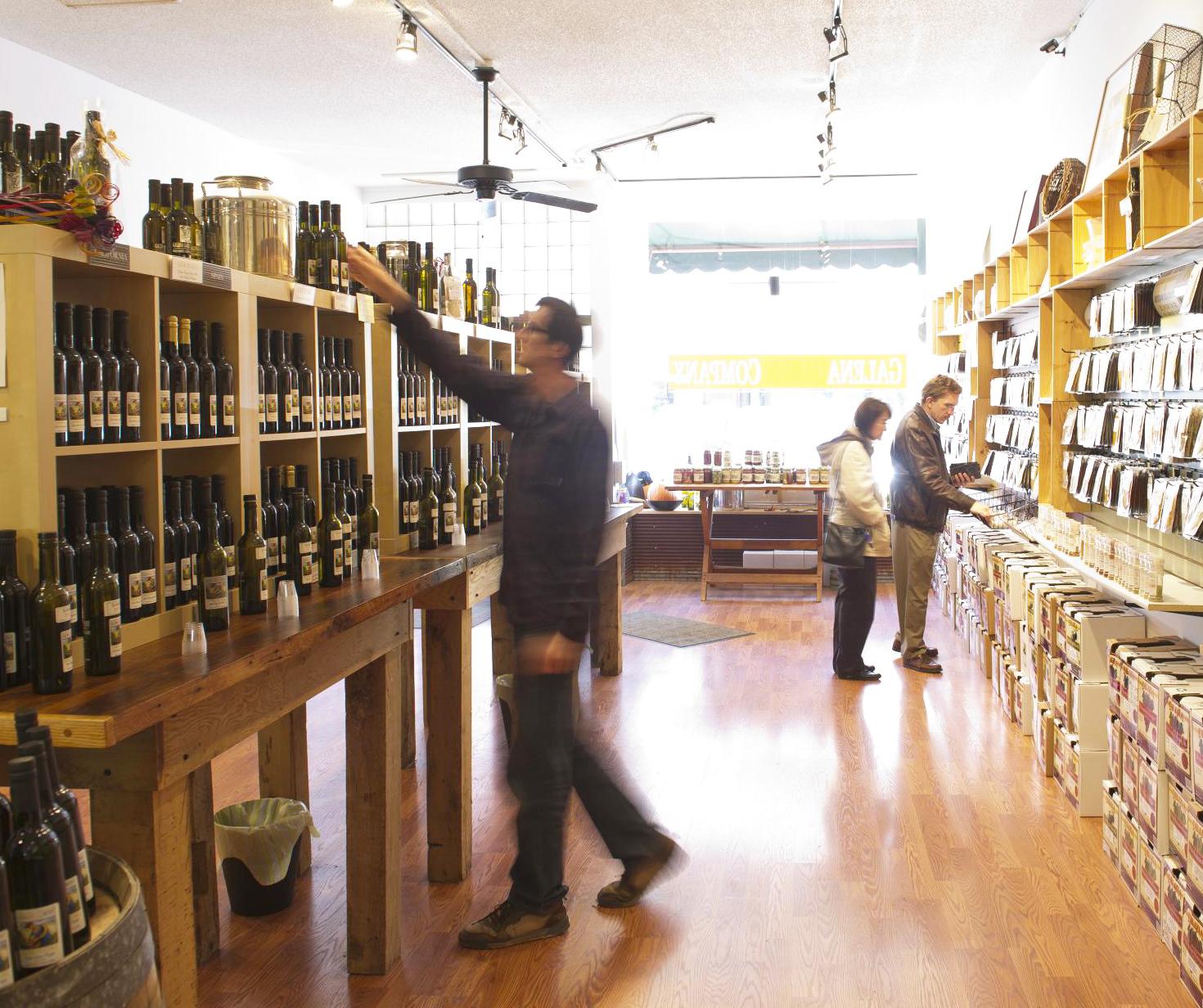 #3: Shops offer fun variety
