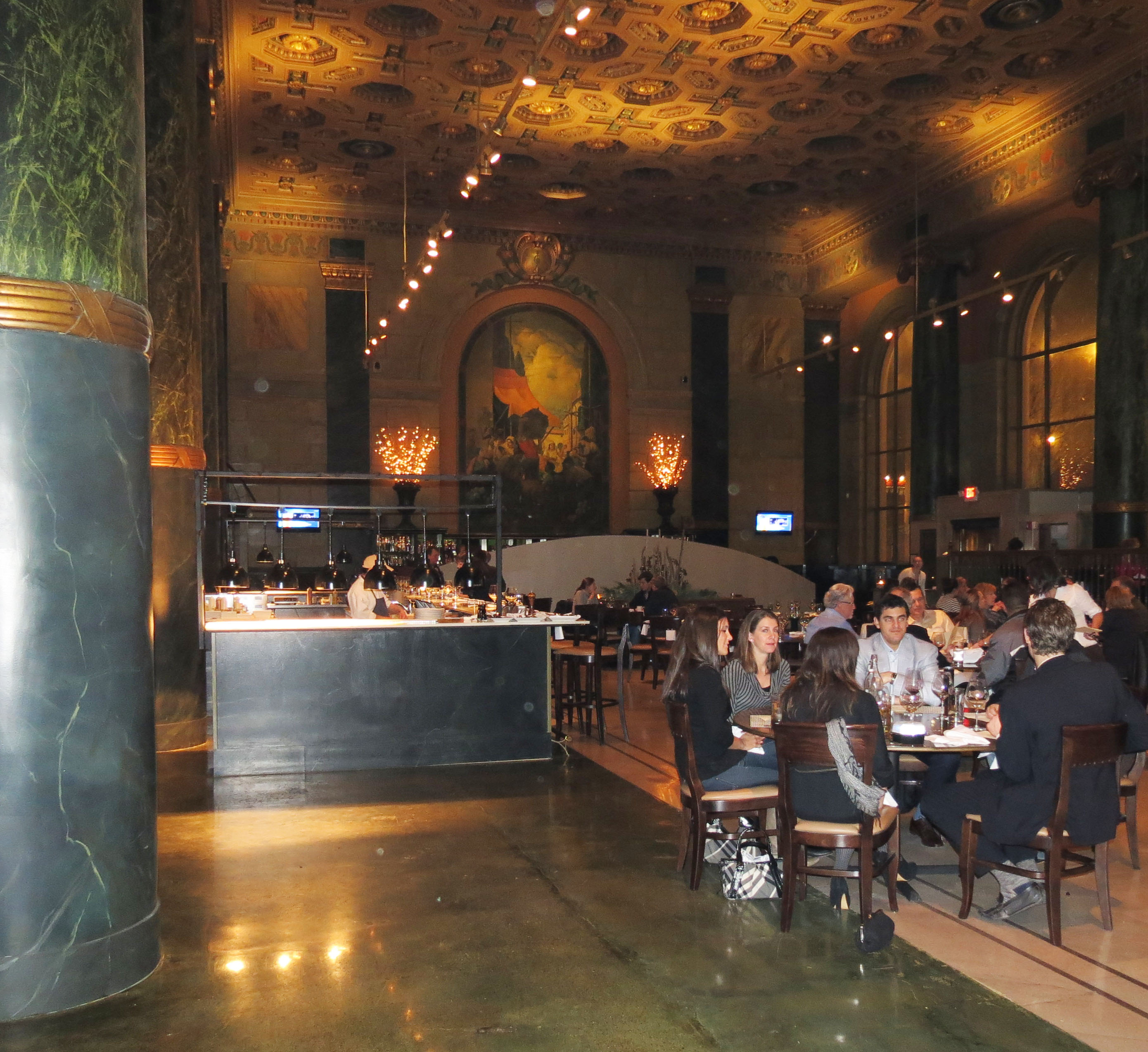 In the bank: Crop Bistro and Bar