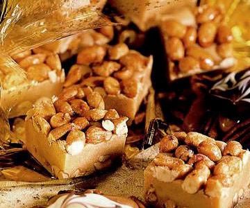 Salted Peanut Squares