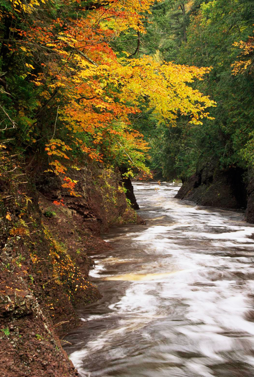 Black River hiking