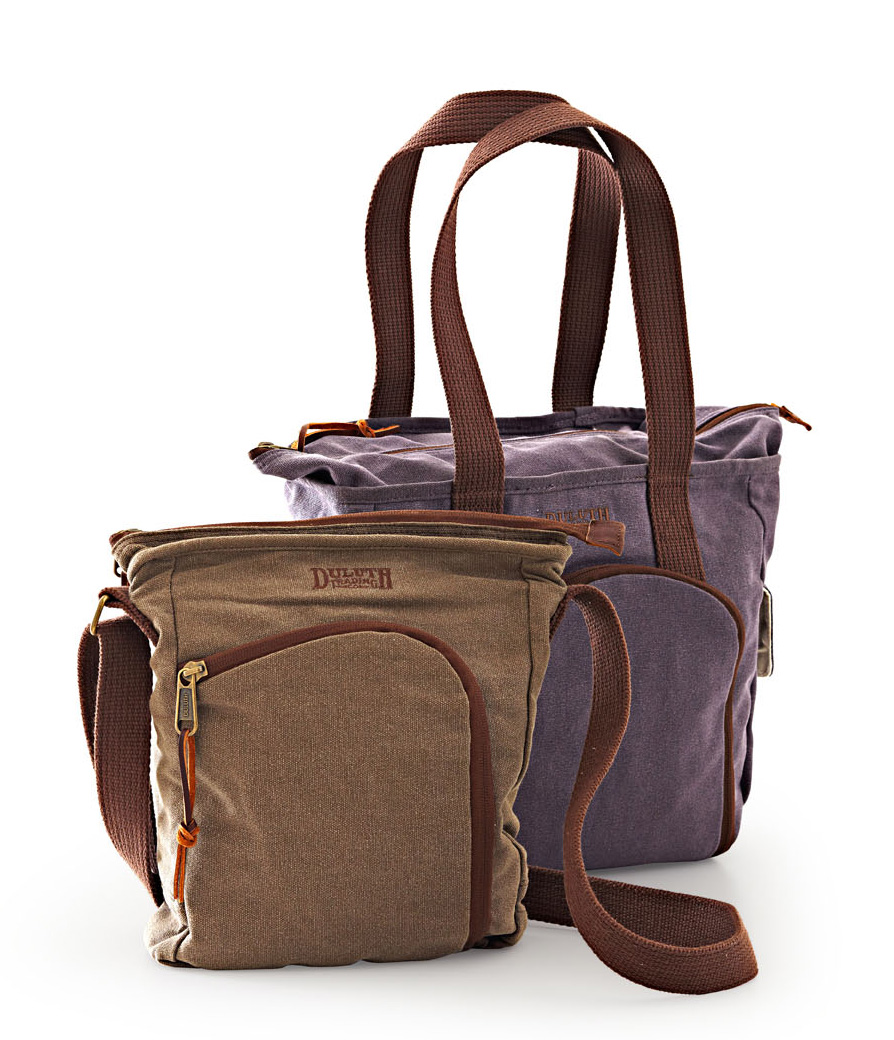 Duluth Trading Company bags