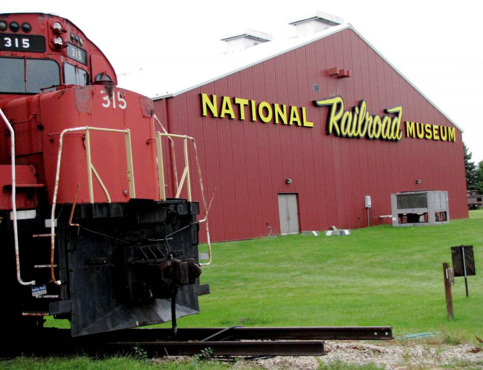 The National Railroad Museum calls northern Wisconsin home.