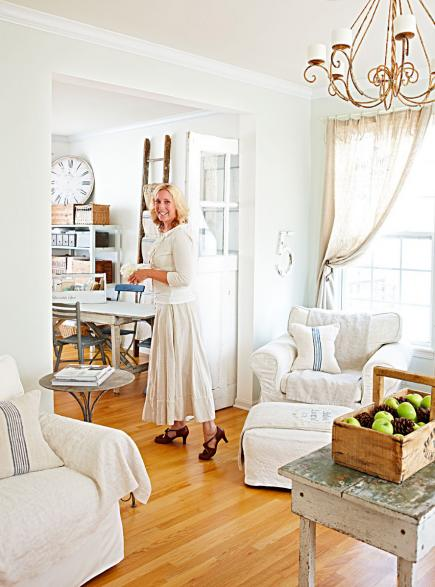House tours: Decorating in white