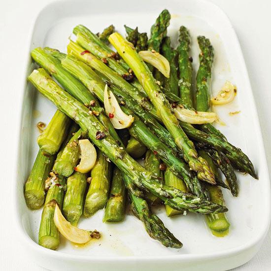 Garlic-Roasted Asparagus