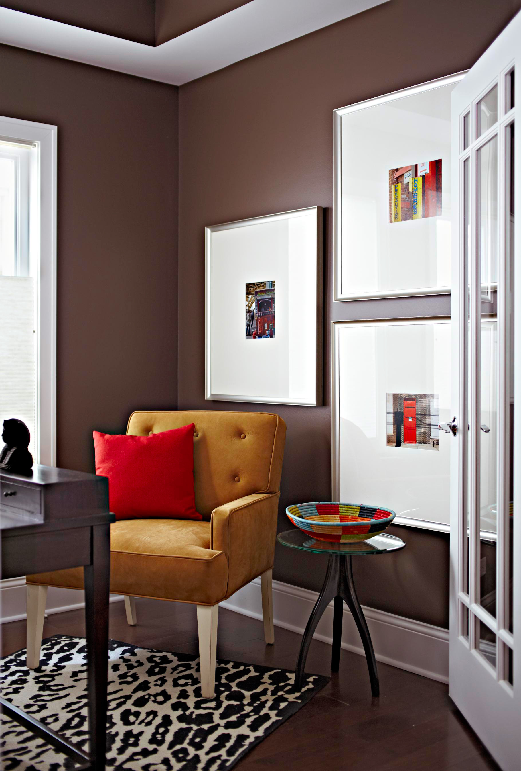 Spice up small spaces