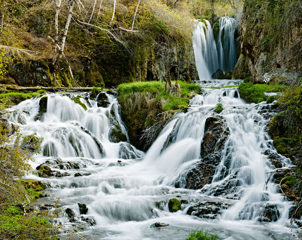 Roughlock Falls at Spearfish Canyon