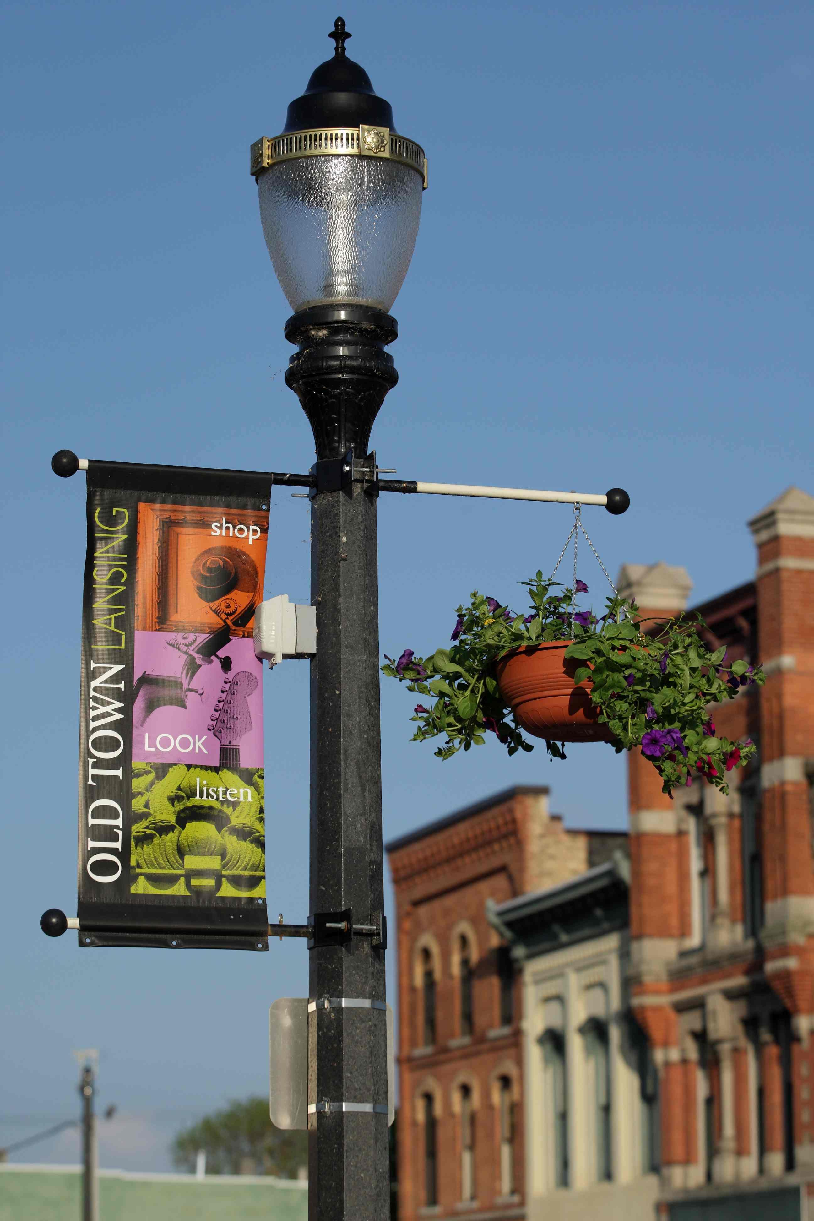 Lansing's Old Town neighborhood