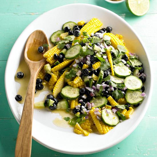 Corn-Blueberry Salad