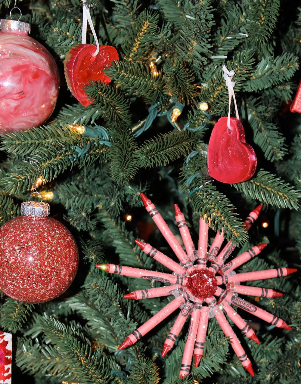 Crayon ornaments