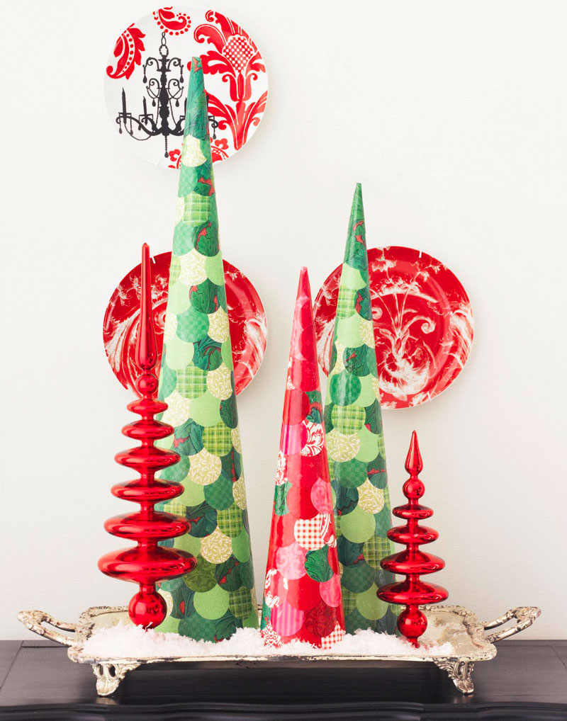 Decoupage trees