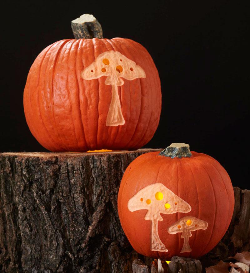 Mushroom stencil